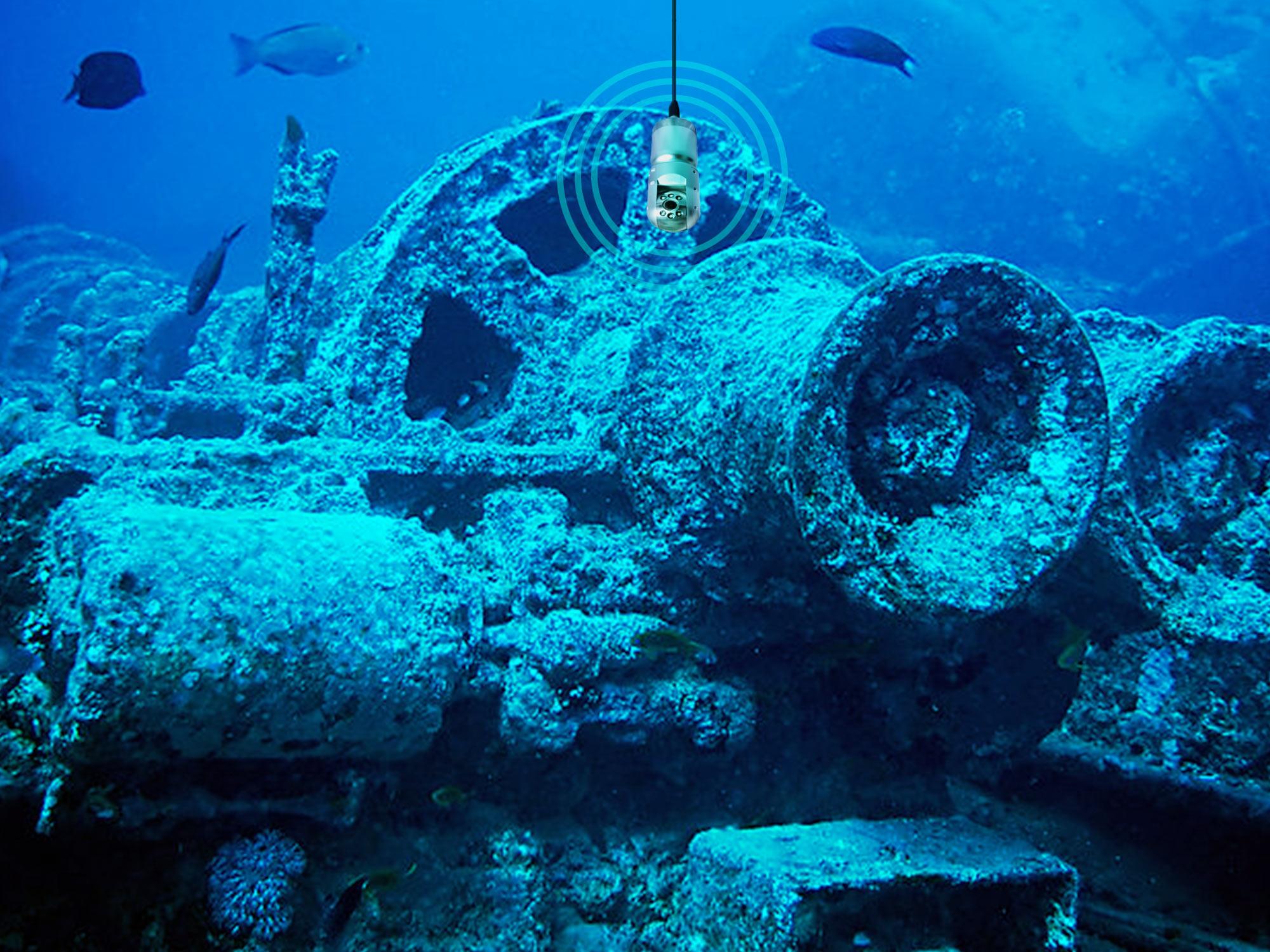 Inspecciones submarinas con tecnologia de punta.