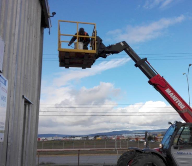 Reparación y mantenimiento de techos industriales